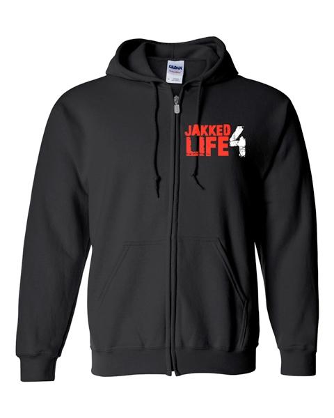 Jakked 4 Life Hoodies